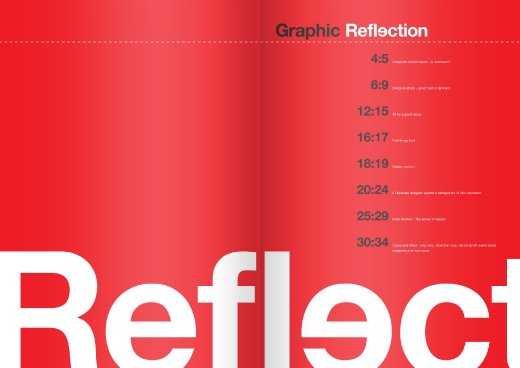 graphic reflection